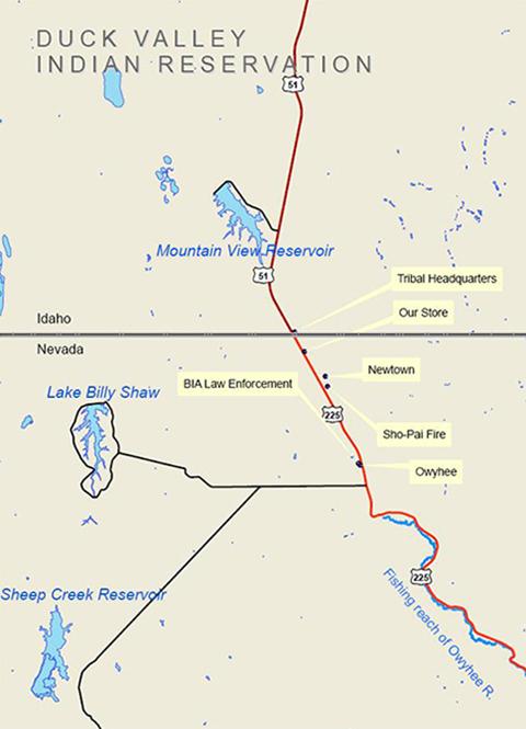 ShoPai Tribes ShoPai Home - Where is nevada